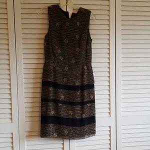 cynthia howie sleeveless silk dress size 4